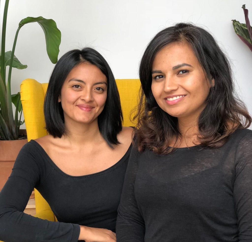 Melisa Manrique und Manik Chander